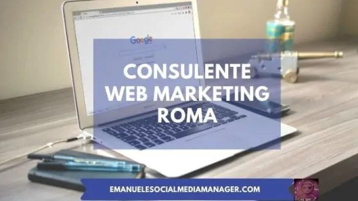 consulente web marketing roma
