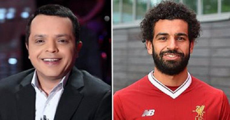 """محمد هنيدي يطالب """"ليفربول"""" بتغيير اسمه إلى """"ليفرصلاح"""" أو """"صلاحبول"""""""