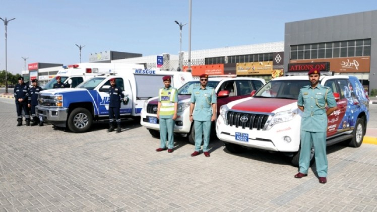 """45 patrols and 15 """"guards"""" to ensure the safety of students in Ras Al Khaimah - Teller Report"""