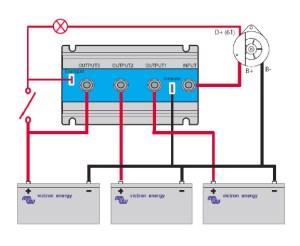 Victron Energy FET Battery Isolators  e Marine Systems