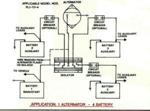 Battery Isolators  e Marine Systems