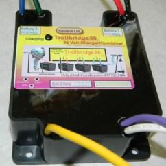 36 Volt Xlr To 1 4 Inch Wiring Diagram Yandina Trollbridge 12 Battery Combiner Tb36 E Marine Cby12032