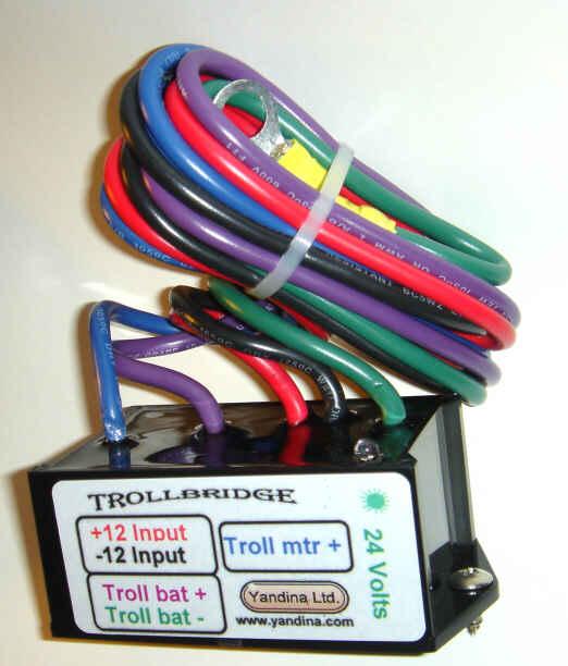 100 Amp Wiring Diagram Yandine Trollbridge 12 To 24 Volt Battery Charge Combiner