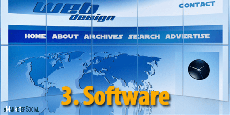 Software para crear sitios web