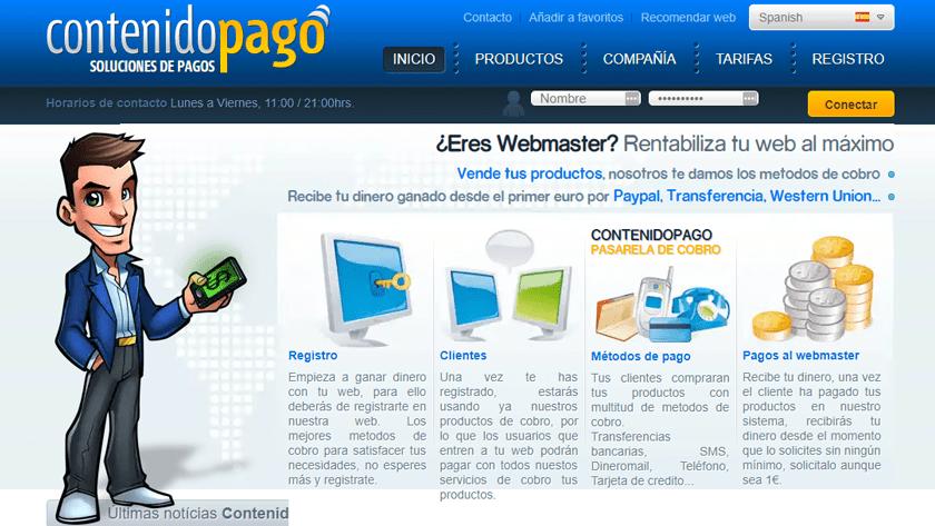 Plataforma de pagos Metodospago.com
