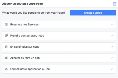 appel a laction facebook