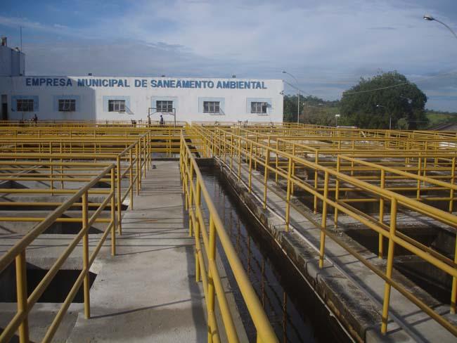 Estação de Tratamento de Água -ETA da Emsa Itabuna - Foto Divulgação 1