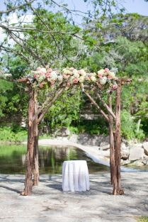 1000 Ideas About Rustic Wedding Archway On Emasscraft Org