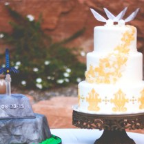 3d Printing Helped Make This Legend Of Zelda Themed Wedding The