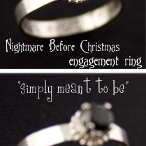 Christmas Engagement, Nightmare Before And Nightmare Before