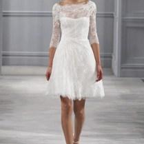 Courthouse Wedding Dress 16