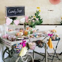 Gallery Rustic Garden Candy Bar Decor Ideas