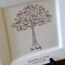 Parent Wedding Giftfamily Poem Thank You Platter By Customsepia