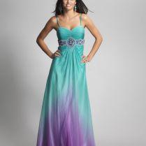 Purple And Teal Bridesmaid Dresses