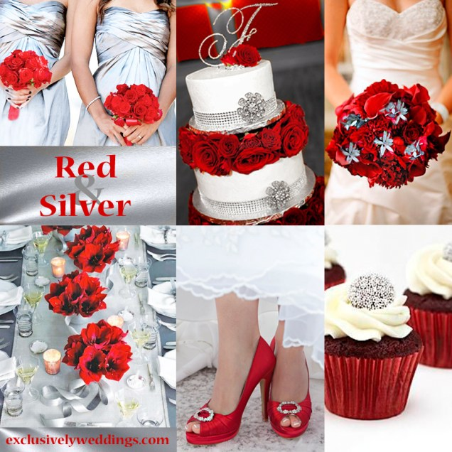 Red Wedding Color – Seven Vibrant Combinations