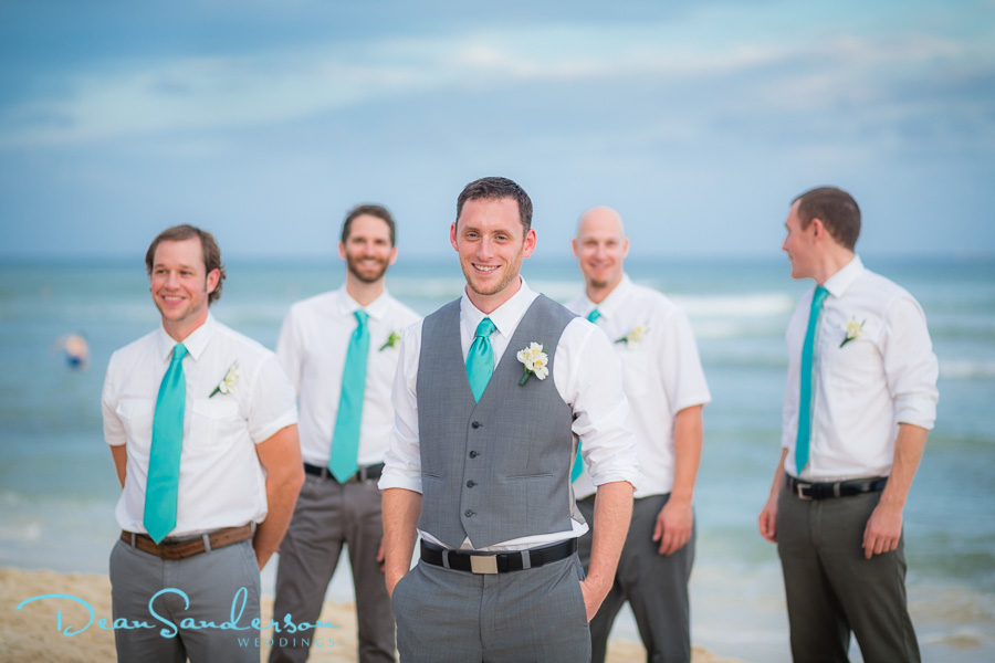 Groom Beach Wedding Attire