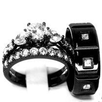 1000 Ideas About Black Wedding Rings On Emasscraft Org