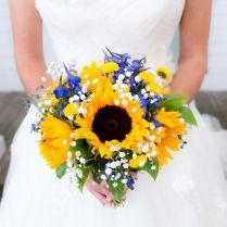 1000 Ideas About Blue Sunflower Wedding On Emasscraft Org