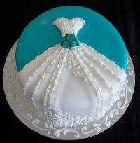 Bridal Shower Wedding Cakes