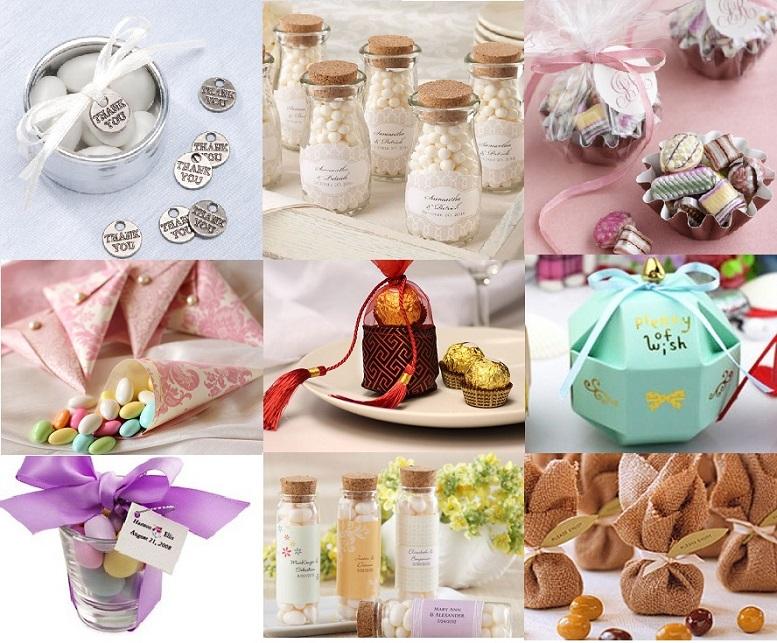 Wedding Gift Giveaway Ideas: Inexpensive Wedding Favors