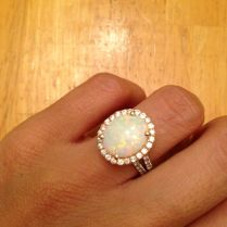 1000 Ideas About Opal Engagement Rings On Emasscraft Org