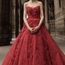 1000 Ideas About Red Wedding Gowns On Emasscraft Org