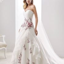 1000 Ideas About Wedding Dresses With Color On Emasscraft Org