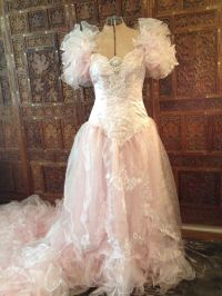 Cotton Candy Wedding Dress