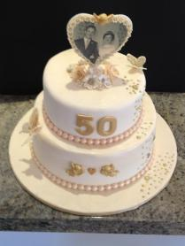 1000 Images About 50th Anniversary Cakes On Emasscraft Org