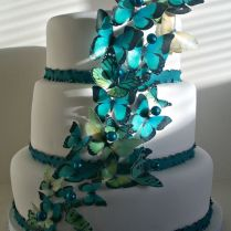 1000 Images About Butterfly Wedding Cakes On Emasscraft Org