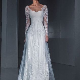 1000 Images About Long Sleeved & 3 4 Length Sleeve Wedding Gown