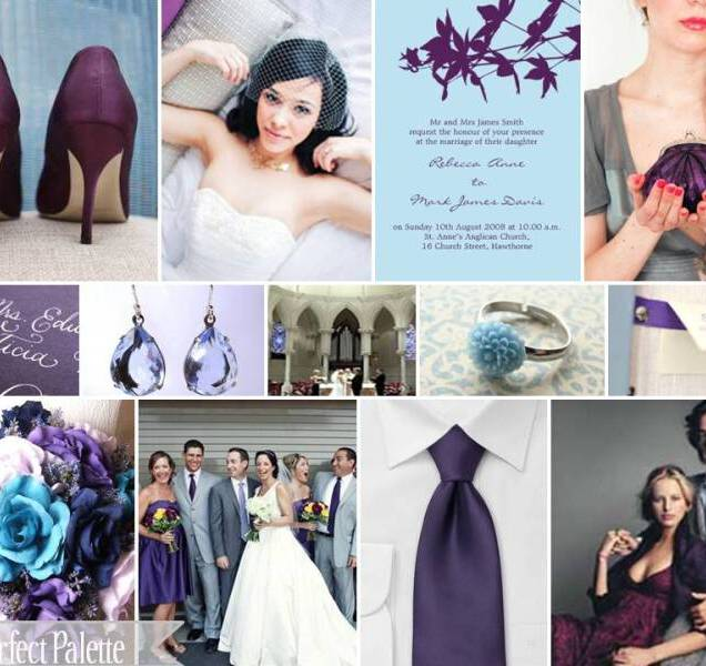 1000 Images About Plum, Blue & Gray Wedding Colors On Emasscraft Org