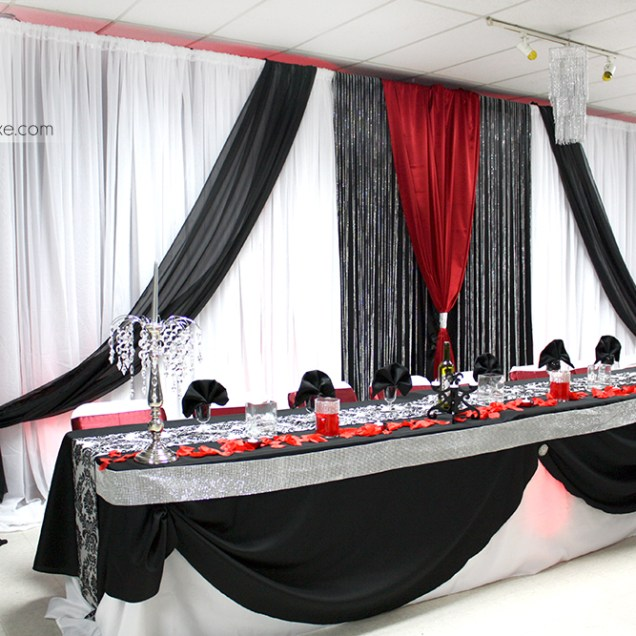 1000 Images About Red Silver Black Chic Wedding! On Emasscraft Org