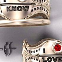 13 Nerdy Engagement Rings That Will Have You Rethinking Your Proposal
