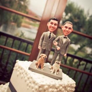 14 Fun Gay Wedding Cake Toppers — Gayweddings Com