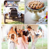1920's Rural Theme Wedding Melissa James