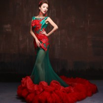 20 Bridal Oufits In Red For That Special Day