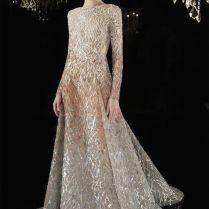 20 Gorgeous And Glamourous Metallic Wedding Dresses