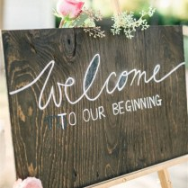 20 Wedding Sign Ideas Your Wedding Guests Will Love