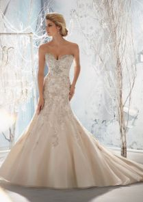 21 Wedding Dresses Mermaid With Bling