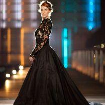 25 Gorgeous Black Wedding Dresses