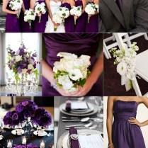 40 Glamorous Dark Purple Amusing Purple And White Wedding Ideas