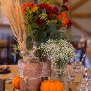 50 Vibrant And Fun Fall Wedding Centerpieces
