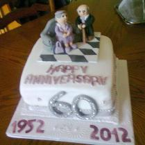 60th Wedding Anniversary 55 Cakes