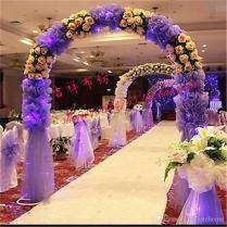 75cm Wide Handmade Diy Wedding Decorations Colorful Rayon Clothing