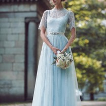 A Truly Special Something Blue Your Wedding Dress