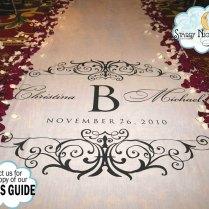 Aisle Runner Wedding Aisle Runner Custom By Starrynightdesign