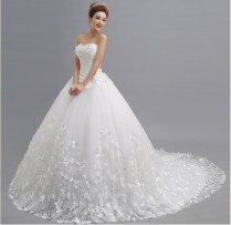 Aliexpress Com Buy 2015 Luxurious White Princess Lace Long