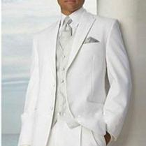 Aliexpress Com Buy 2016 New Arrival Simple White Groom Tuxedos