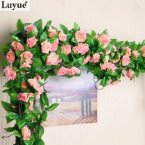 Aliexpress Com Buy Wedding Decoration Flower Garland Silk Rose